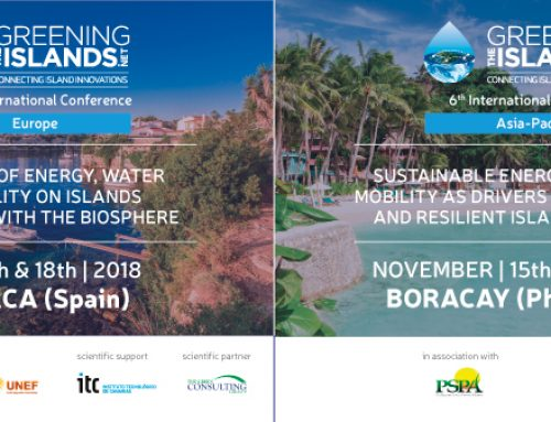 Greening the Islands looks forward to conferences in Minorca (Spain) and in Boracay (Philippines) in 2018